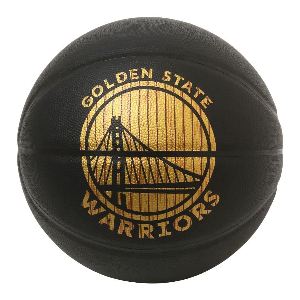 ハードウッドシリーズ ウォリアーズ 合成皮革 5号球 NBAロゴ入り 84-301J