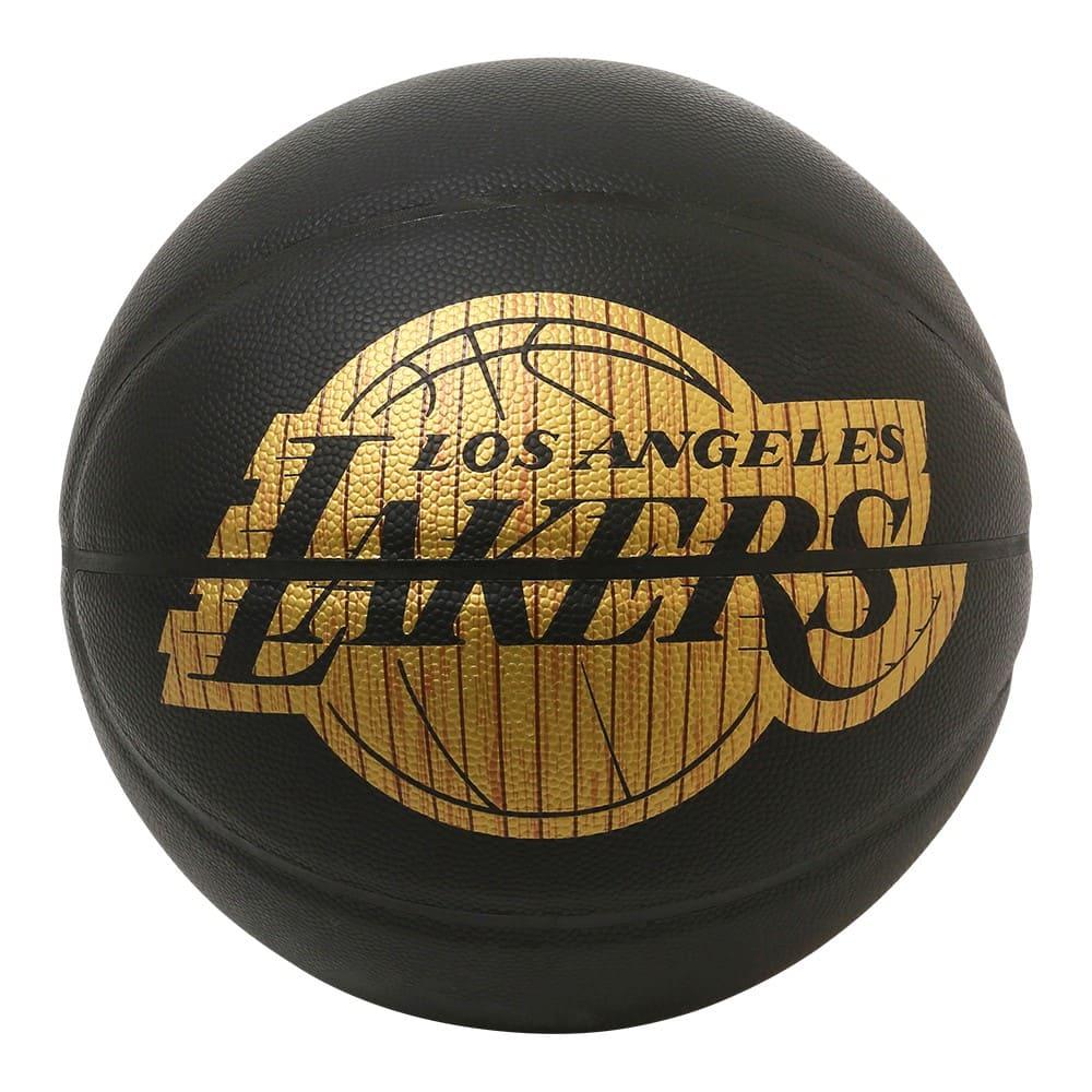 ハードウッドシリーズ レイカーズ 合成皮革 5号球 NBAロゴ入り 84-300J