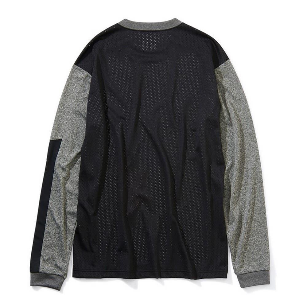 ロングスリーブTシャツ スリーブプリント SMT201040