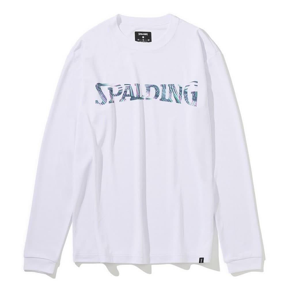 ロングスリーブTシャツ パームリーフロゴ SMT201160
