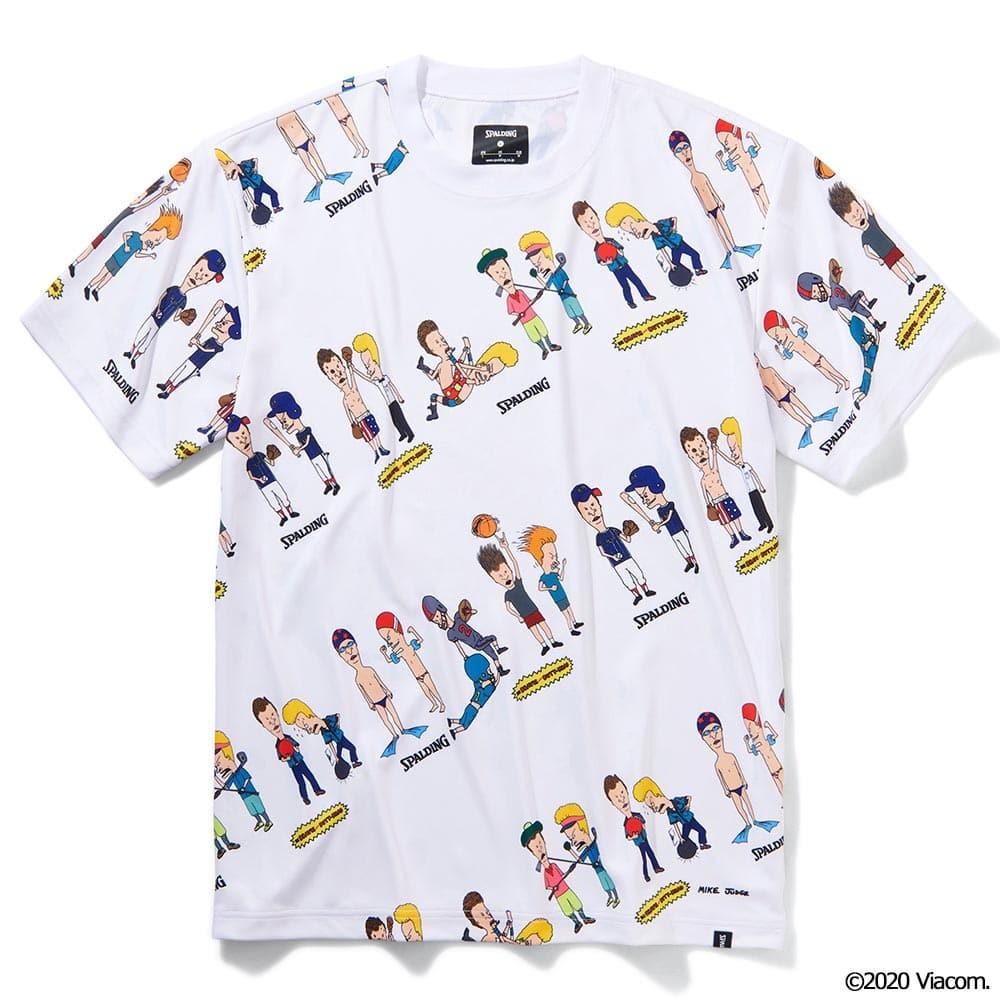 Tシャツ  ビーバスアンドバットヘッド スポーツマン SMT210390