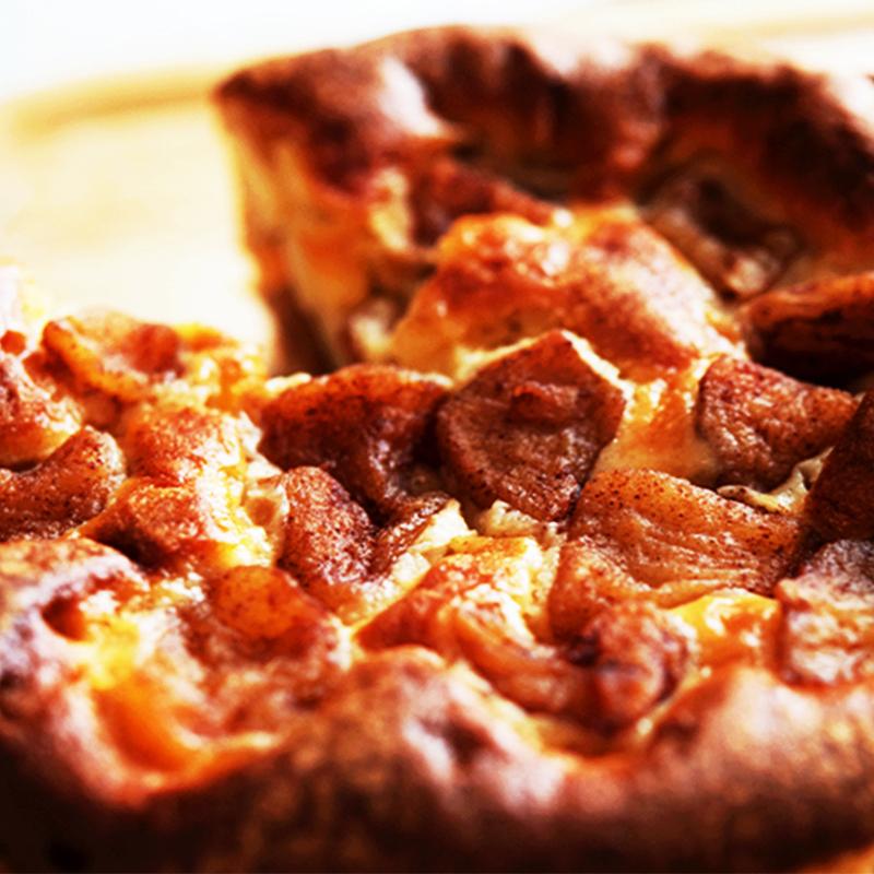 魅惑な食感のアップルケーキ「林檎の誘惑」