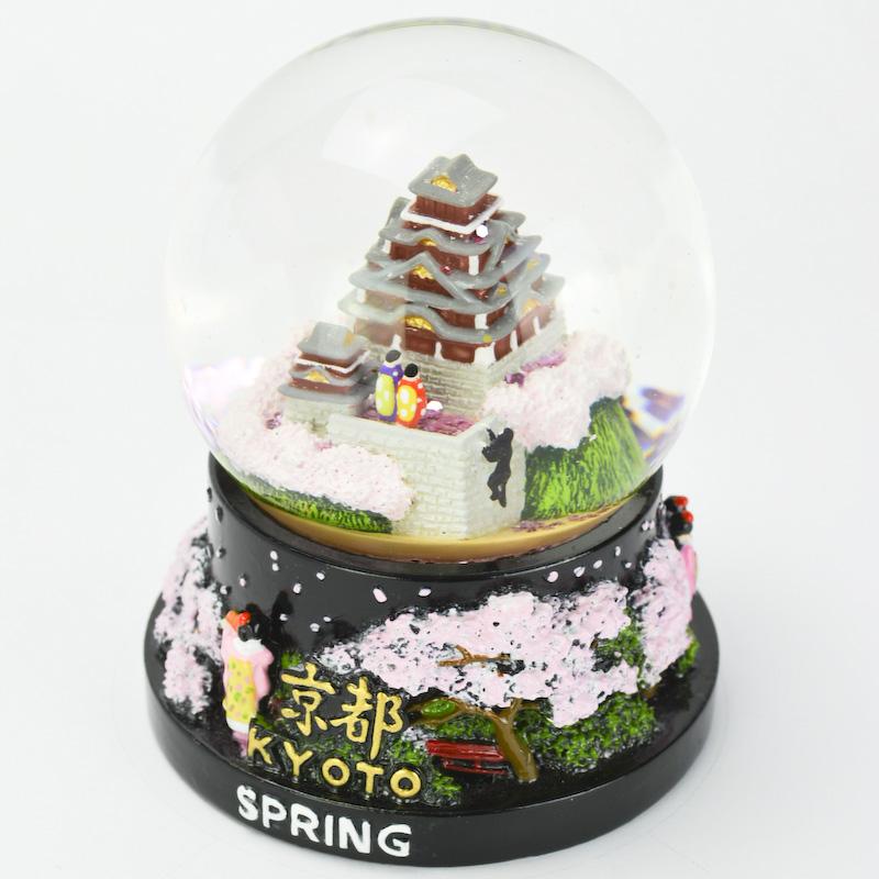【musubi】スノードーム 旅ドーム 京都(春) Snowglobe : Kyoto-Spring