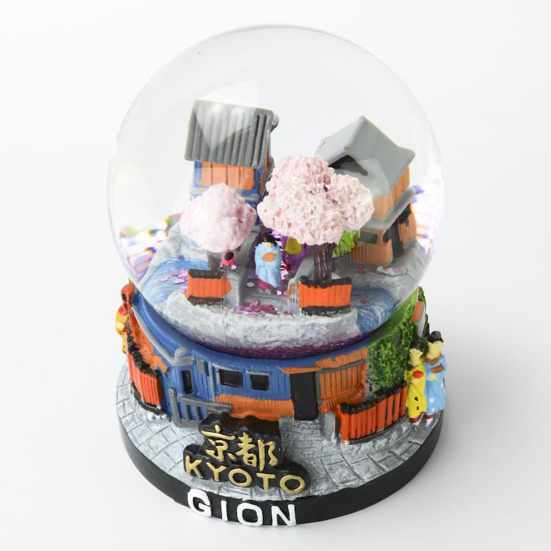 【musubi】スノードーム 旅ドーム 京都(祇園) Snowglobe : Kyoto-Gion