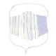 EM045 洗える 浴衣布マスク ポケット付き Lサイズ ノーズフィッター付き 男女兼用 布マスク おしゃれ 日本製 繰り返し メール便*