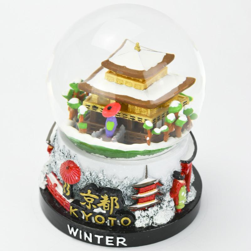 【musubi】スノードーム 旅ドーム 京都(冬) Snowglobe : Kyoto-Winter