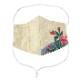 EM012 洗える 和布マスク 浴衣生地 国産さらし生地 ノーズフィッター付き 男女兼用 布マスク おしゃれ 日本製 繰り返し メール便*