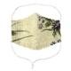 EM017 洗える 和布マスク 浴衣生地 国産さらし生地 ノーズフィッター付き 男女兼用 布マスク おしゃれ 日本製 繰り返し メール便*