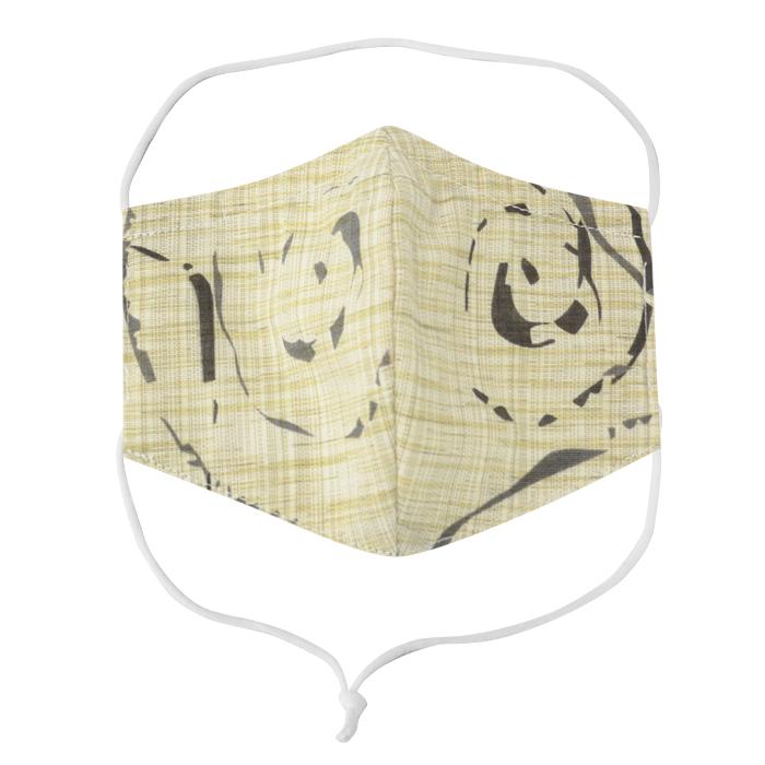 EM020 婦人Mサイズ 洗える 和布マスク 浴衣生地 国産さらし生地 ノーズフィッター付き 男女兼用 布マスク おしゃれ 日本製 繰り返し メール便*