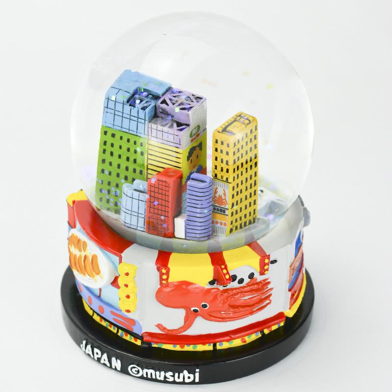 【musubi】スノードーム 旅ドーム 大阪(道頓堀) Snowglobe : Osaka-Dotonbori