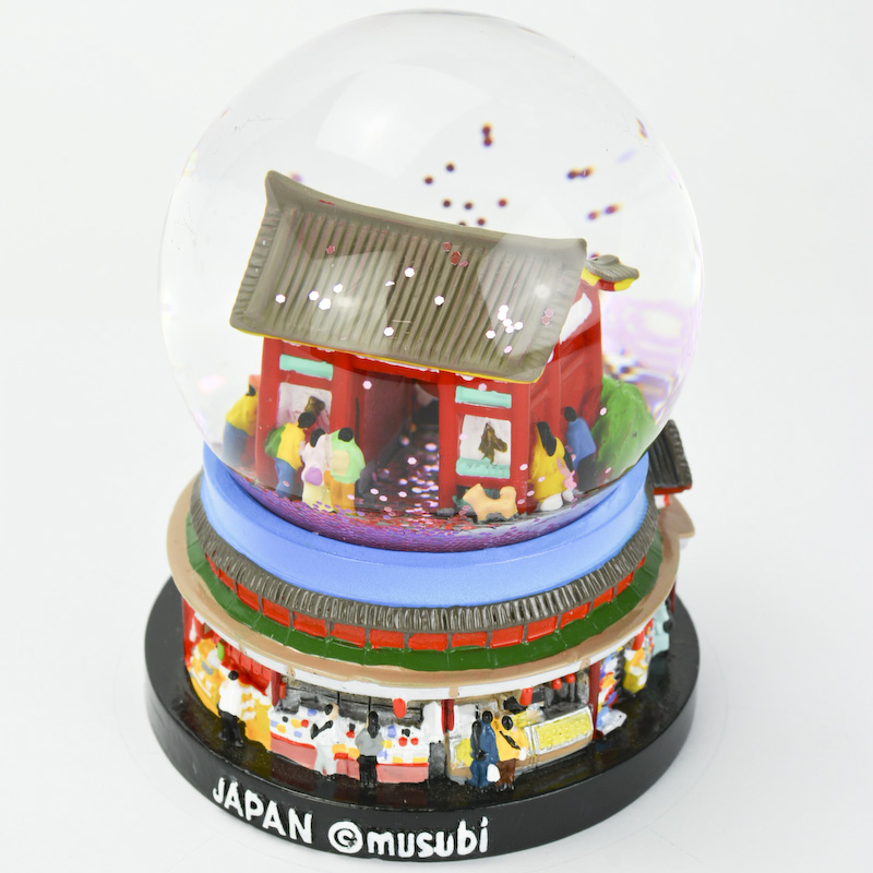 【musubi】スノードーム 旅ドーム 東京(浅草) Snowglobe : Tokyo-Asakusa