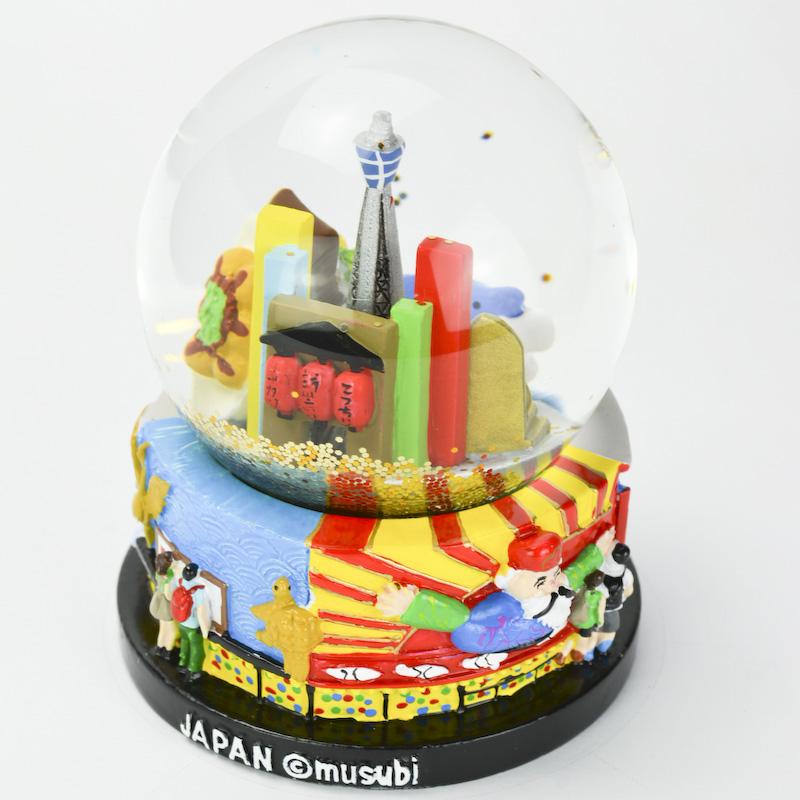 【musubi】スノードーム 旅ドーム 大阪(新世界) Snowglobe : Osaka-Shinsekai