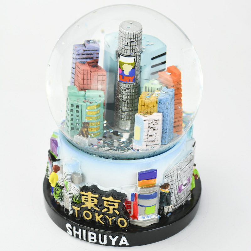 【musubi】スノードーム 旅ドーム 東京(渋谷) Snowglobe : Tokyo-Shibuya