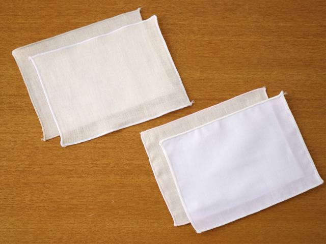2枚以上か他の商品と同梱でネコポス送料無料  [ネコポスOK]ノーズワイヤー入り布マスク フラワーレース刺繍 インナーガーゼ付き ホワイト / ピンクベージュ
