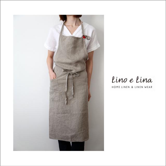 [ネコポスOK]Lino e Lina リーノ・エ・リーナ フルエプロン マノン・フラックス