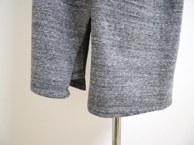 yohaku(余白)前後どちらでも使えるデザイン ふんわりとした肌触りの綿100% 筒状に編んだTUTU 半袖ワンピース(C0069)