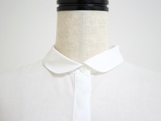 スタンプアンドダイアリー 後ろボタン&たっぷりタックでふんわり 薄手でさらっと着れる9分袖ブラウス(SD01SS42F01)
