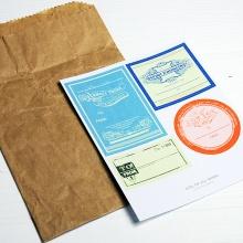 G.O.A.W ヴィンテージ風ギフトラベルセット【メール便OK】