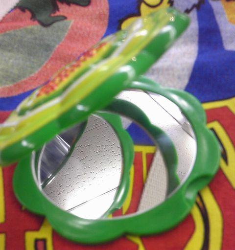 チュッパチャプス コンパクトダブルミラー グリーン