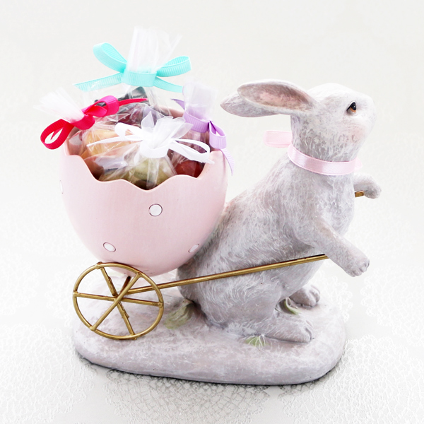 Happy Bunny (4個入/オブジェSET)