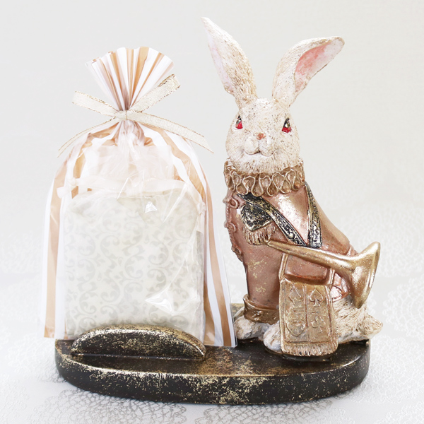 Wonder Rabbit ; Trumpeter (4個入/スマホスタンドSET)