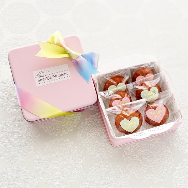 Springtime ; Pink(フィナンシェ6個入)