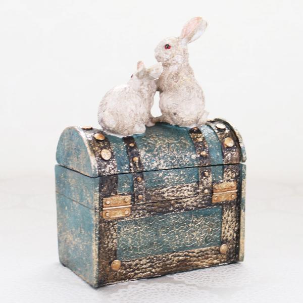 Bunnies' Treasure Chest (4個入/小物入れSET)