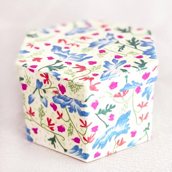 Blooming(インテリアボックス/紅茶/クッキー5個入)