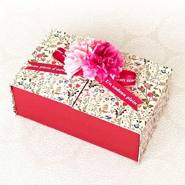 Flowery Box(インテリアボックス/プチケーキ6個/クッキー10個/ドリップコーヒー3個入)