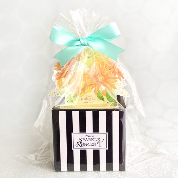 A Little Present ; Cookie yellow (クッキー3袋15個&紅茶3bags入)