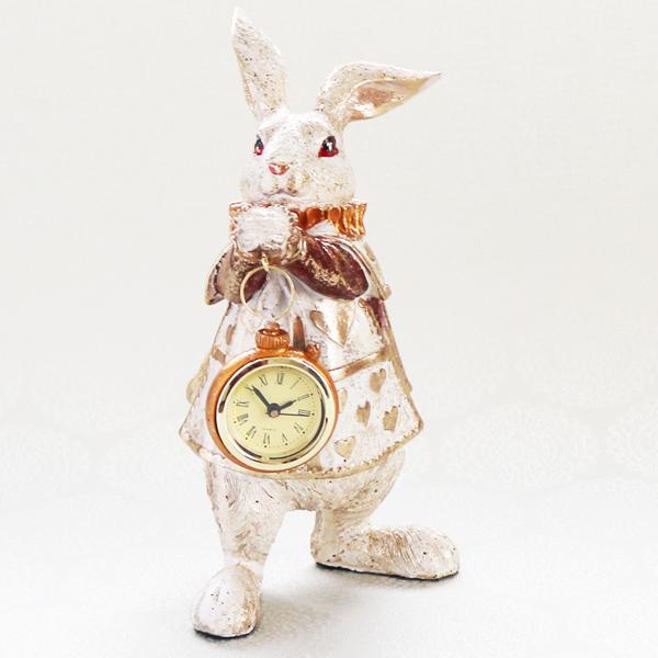【お急ぎギフト】The Clock Rabbit (紅茶&置時計)