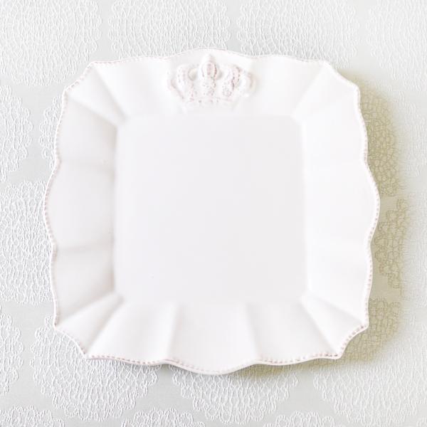 It's always tea-time ; Crown Plates(クッキー10個・紅茶3 bags×2種入/プレート2枚SET)