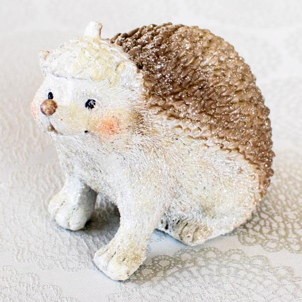 【お急ぎギフト】Winter Forest ; Hedgehog(オブジェ&ドリップコーヒー)