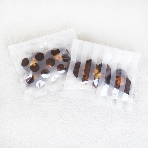 Cookie Bag ; Dark-choco Orange(10個入)