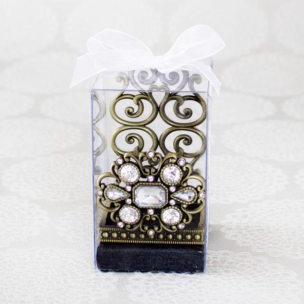【お急ぎギフト】Queen's Favorite ; Gem Gold(紅茶&スマホスタンド)