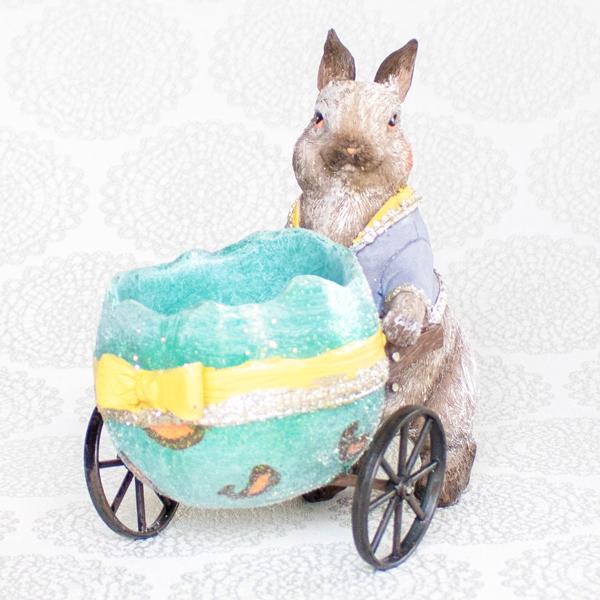 【お急ぎギフト】Lovely Bunny (紅茶&オブジェSET)
