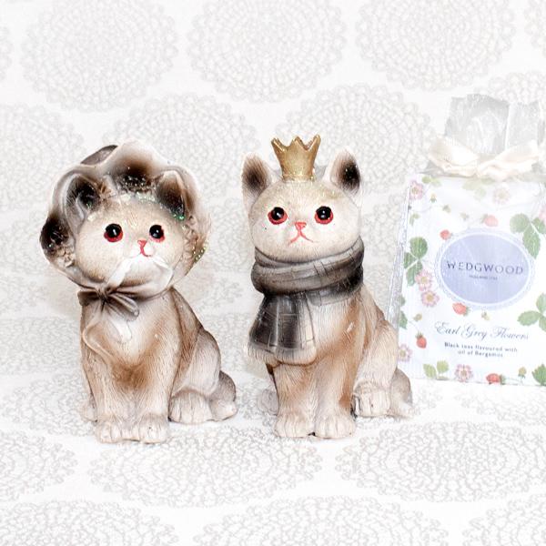 【お急ぎギフト】My imperial kittens (紅茶&オブジェ)