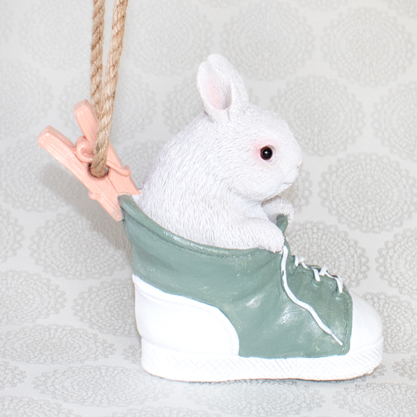 【お急ぎギフト】Playful Bunny(オブジェ&クッキー7個入)