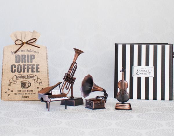 【お急ぎギフト】Quartet(コーヒー&オブジェ4点)