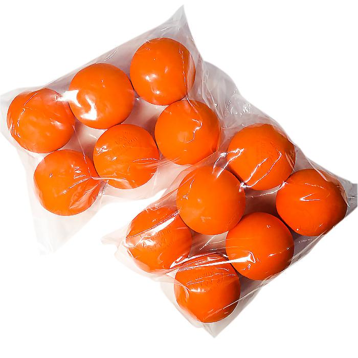オレンジ/イエロー/ホワイト ラクロス ボール ダース[12個入]売り(簡易包装)【NOCSAE公認:刻印入り】/スポーツダイレクトジャパン(SPORTS DIRECT)