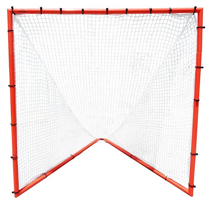 【送料無料】組み立て式 公式試合用ラクロス ゴール (ネット/バンジー/キャリーバッグ含む)4点セットでお得/スポーツダイレクトジャパン