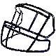 S2EG-2-HS4(R961757)【スピードクラシック用 ファンデーション用】/リデル(Riddell)
