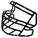S2BDC-TX-HS4(R961SP3)【スピードクラシック用 ファンデーション用】/リデル(Riddell)