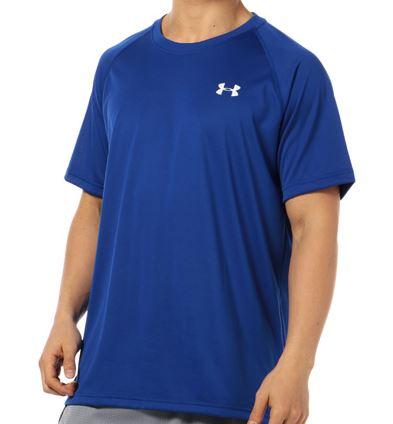 【MD・LG・XLサイズ6着!在庫限り販売終了】 テックHG SS MTR3764メンズTシャツ(ルーズタイプ)ネイビーとブルーの2色/アンダーアーマー(UNDER ARMOUR)