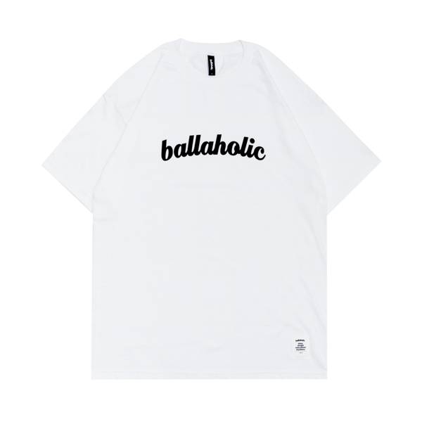 ballaholic/ボーラホリック LOGO Tee (white)