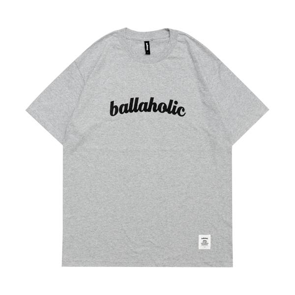 ballaholic/ボーラホリック LOGO Tee (gray)