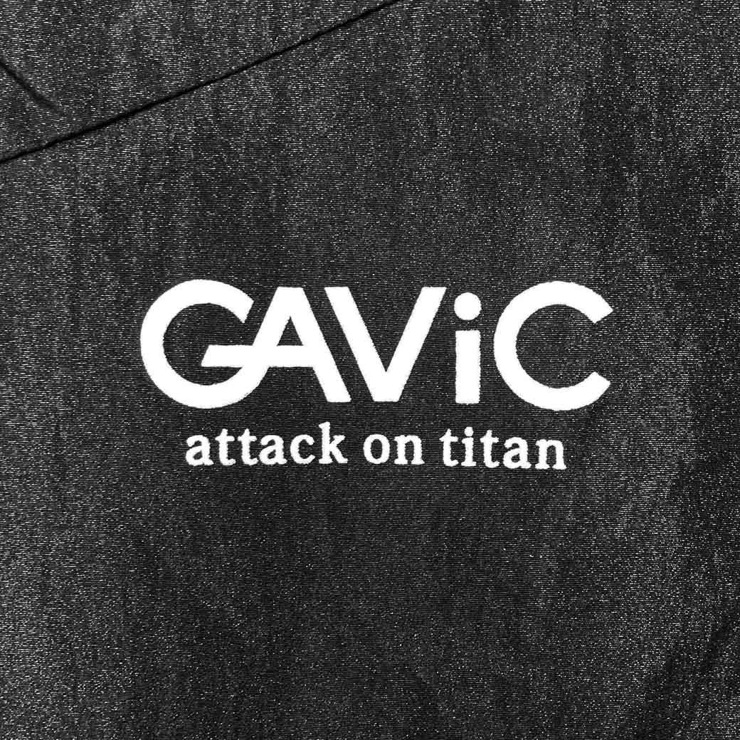《GAViC×進撃の巨人》 トラックジャケット 進撃の巨人 (GA4504-BLK)