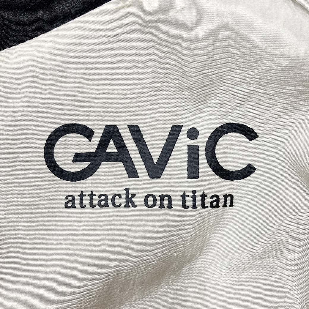 《GAViC×進撃の巨人》 トラックジャケット 進撃の巨人 (GA4504-BRG)