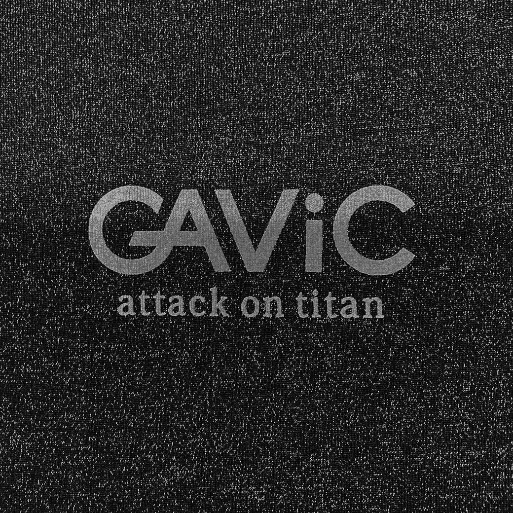 《GAViC×進撃の巨人》 トレーニングTシャツ 進撃の巨人 (GA4340-BLK)
