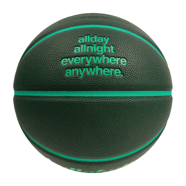 ballaholic × TACHIKARA/ボーラホリック × タチカラ Playground Basketball 7号(dark green/deep mint) (BHBAC-00469-DGM)